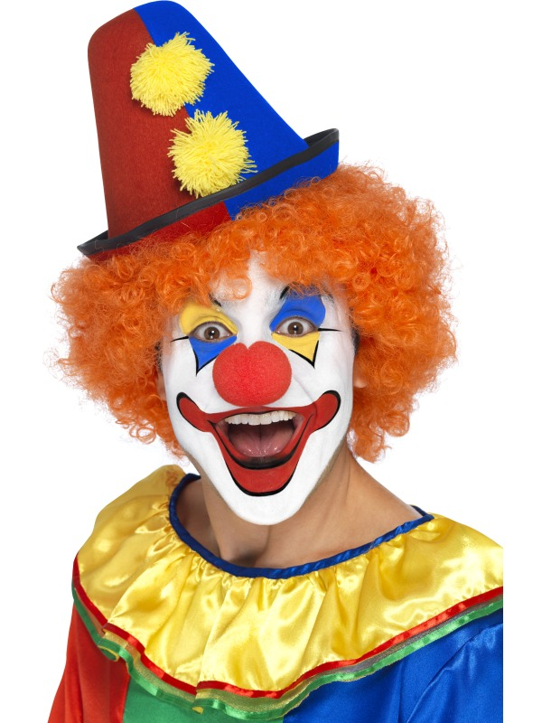 Chapeau haut de forme de clown chapeaux de clown chapeaux 18 07 2018 - Maquillage de clown facile ...