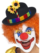 Chapeau melon clown Chapeaux de Clown