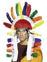 Coiffe de chefs indiens Chapeaux de Clown