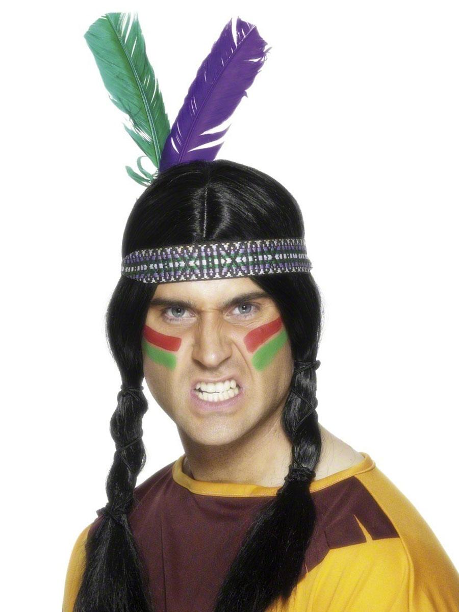 Головной убор индейца детский своими руками 41