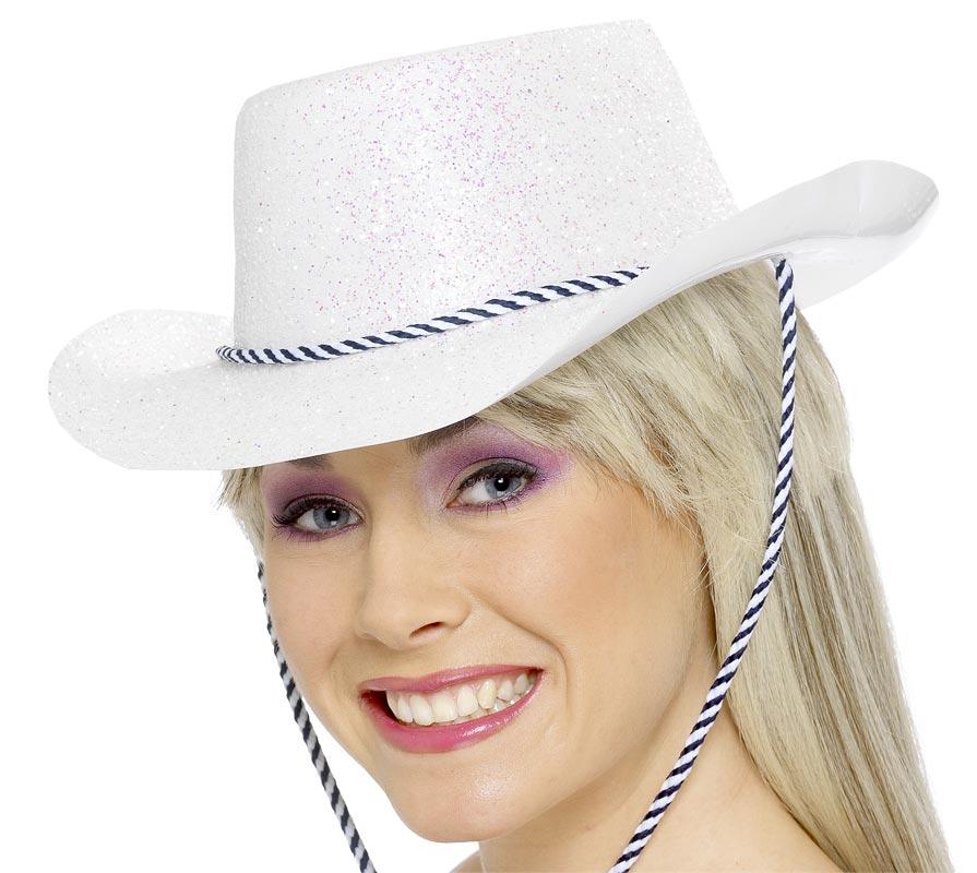 Chapeaux de Cowboy Cowboy paillette chapeau multicolore Pvc