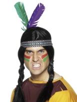 Bande élastique coiffe indienne Chapeaux de Cowboy