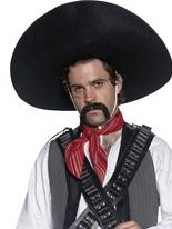 Bandit mexicain Sombrero Chapeaux de Cowboy