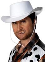 Chapeau de Cowboy blanc Chapeaux de Cowboy