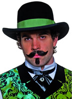 Chapeau Gambler ouest Chapeaux de Cowboy