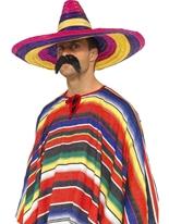 Grand Sombrero coloré Chapeaux de Cowboy