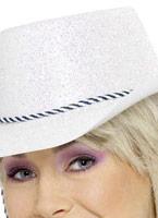 Cowboy paillette chapeau multicolore Pvc Chapeaux de Cowboy
