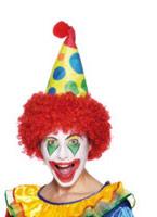 Clown chapeau mousse tissu Chapeaux de Cowboy