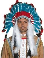 Coiffe indien Chapeaux de Cowboy