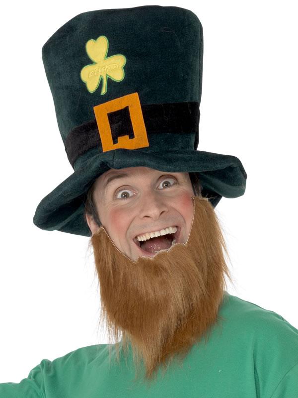 Chapeaux du monde Chapeau de lutin vert bouteille gingembre mousse