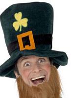 Chapeau de lutin vert bouteille gingembre mousse Chapeaux du monde