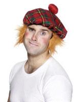 Tam-O-Shanter chapeau Tartan gingembre Chapeaux du monde