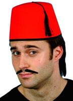 Feutre Fez chapeau rouge Chapeaux du monde