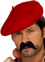Béret rouge Chapeaux du monde