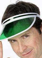80 ' s Poker visière vert Chapeaux Générique