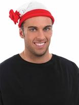 Chapeau rouge et blanc Chapeaux Générique