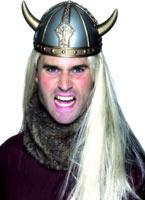 Viking casque or & argent Chapeaux Historiques