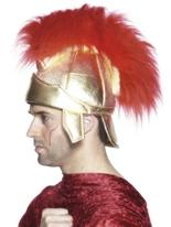 Romain soldats casque avec panache Chapeaux Historiques