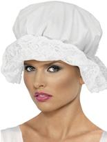 Casquette en coton blanc Mop Chapeaux Historiques
