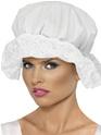 Chapeaux Historiques Casquette en coton blanc Mop