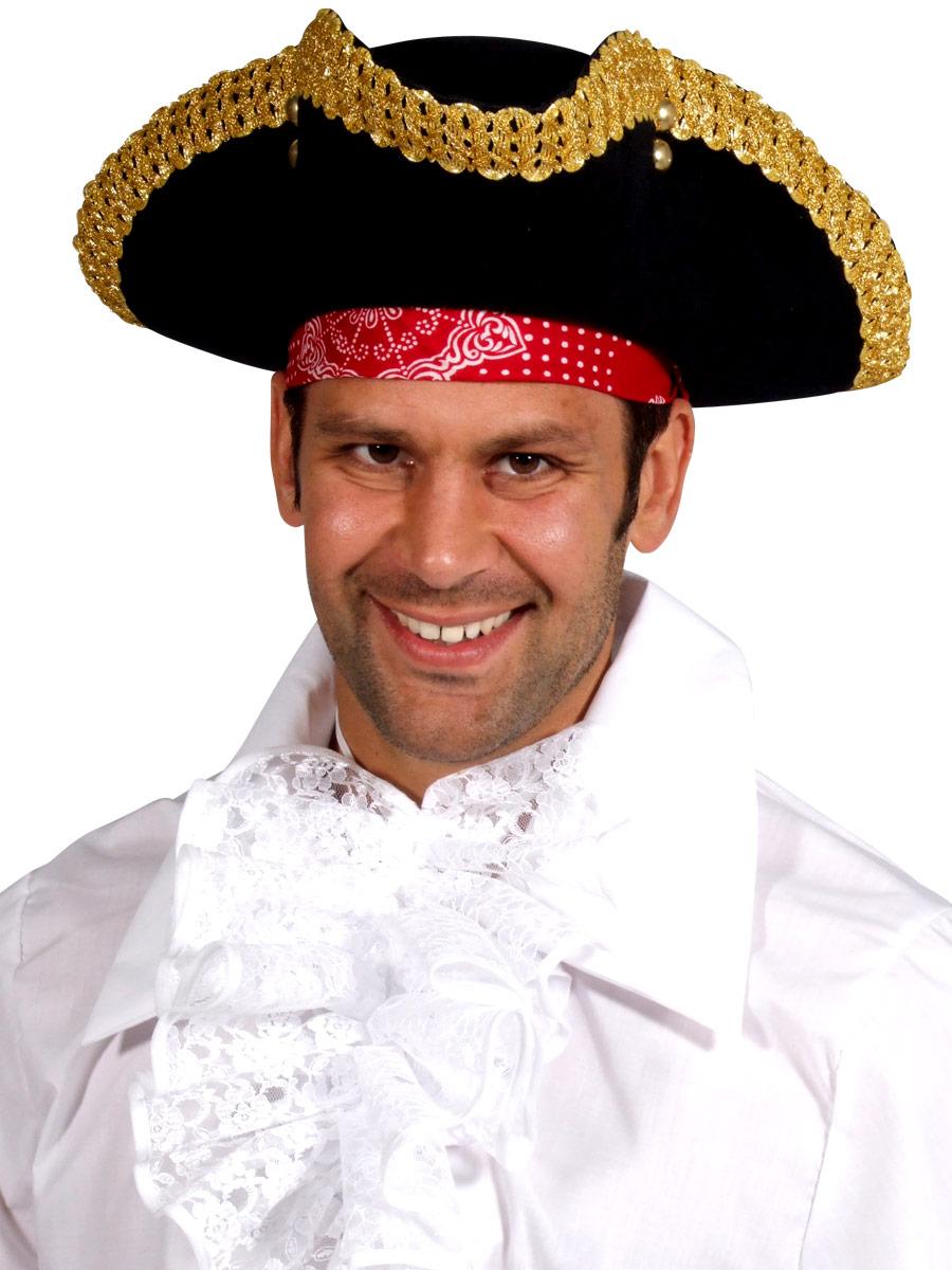 Chapeaux de Pirate Adulte chapeau TRICORNE Deluxe