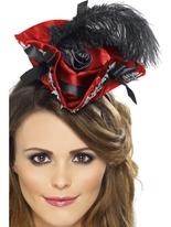 Chapeau de Pirate rouge de miniature Chapeaux de Pirate