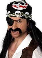 Bandana Skull And Crossbones Chapeaux de Pirate