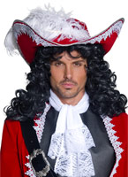 Pirate chapeau rouge Chapeaux de Pirate