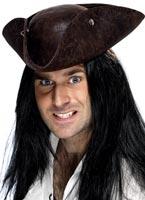 Chapeau TRICORNE de pirate Chapeaux de Pirate