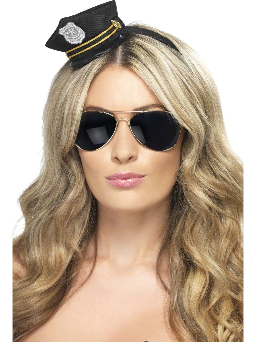Chapeaux Uniforme Cop mini chapeau