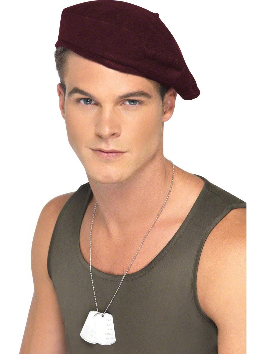 Chapeaux Uniforme Béret rouge des soldats
