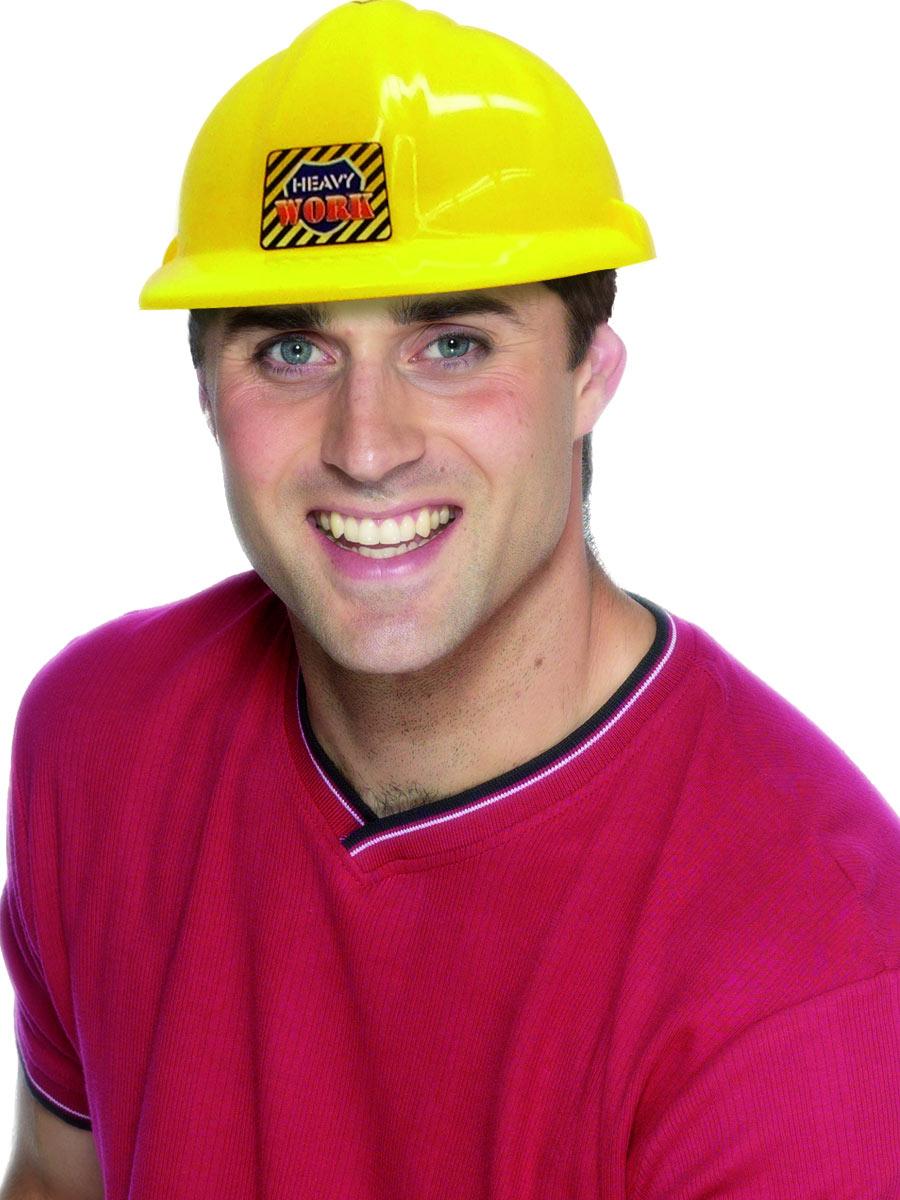 Chapeaux Uniforme Constructeurs durs casque jaune Pvc