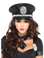 Hat Cop paillette Chapeaux Uniforme