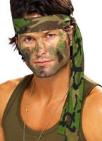 Bandeau Camouflage armée Chapeaux Uniforme