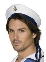 Chapeau de marin avec ancre Chapeaux Uniforme