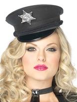 Bonnet de Police Mini Deluxe Chapeaux Uniforme