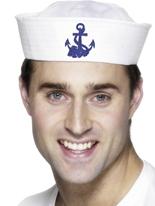 Chapeau de Doughboy marin US avec ancre Chapeaux Uniforme