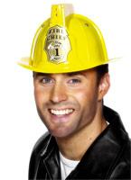 Clignotant Firemans casque Chapeaux Uniforme