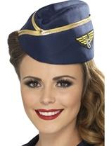 Air Hostess Hat Chapeaux Uniforme