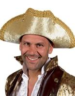 Chapeau de coin Renaisance Deluxe 3 Chapeaux Uniforme