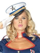 Chapeau de capitaine Mini Deluxe Chapeaux Uniforme