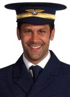 Chapeau pilote Chapeaux Uniforme