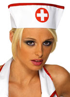 Infirmières Hat avec tissu élastique Chapeaux Uniforme