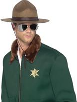 Chapeau de shérif Chapeaux Uniforme