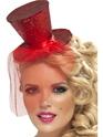 Hauts-de-Forme Fièvre Mini chapeau rouge