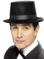 Haut de forme floqué Black Hat Hauts-de-Forme