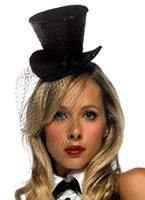 Paillettes mini chapeau haut de forme Hauts-de-Forme