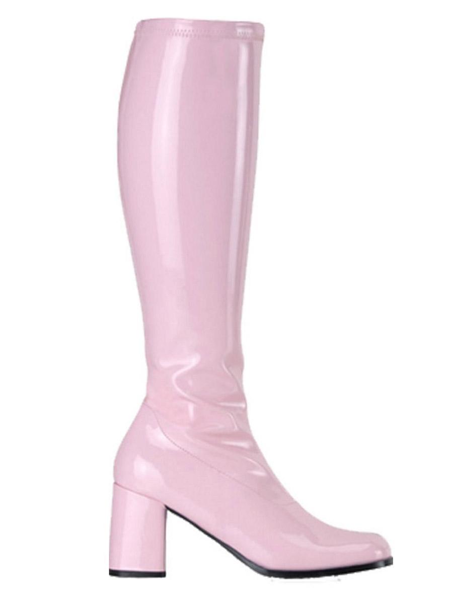 Chaussures pour femmes Bottes gogo bébé rose
