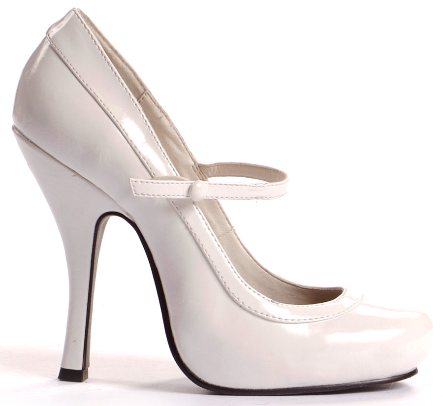 Chaussures pour femmes Mary Jane chaussures blanc