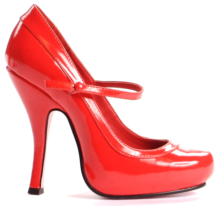 Chaussures pour femmes Mary Jane chaussures rouge